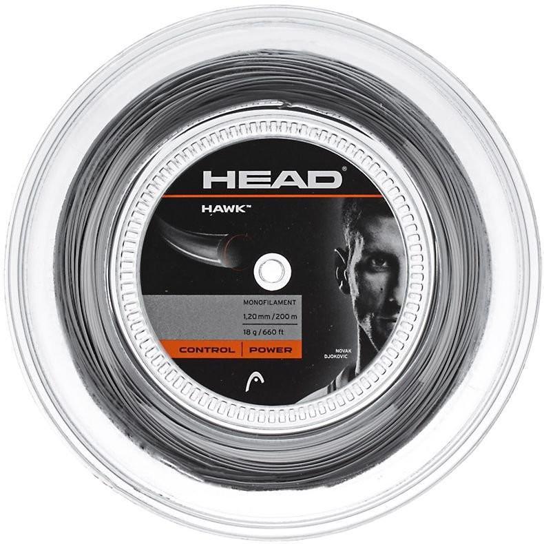 Струна Head HAWK (12 m) grey натяжка с бобины