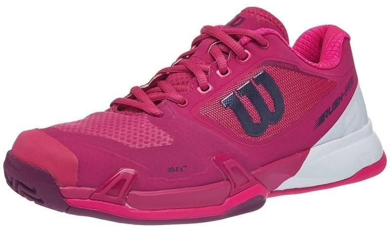 Теннисные кроссовки женские Wilson Rush Pro 2.5 very berry/white/pink glo