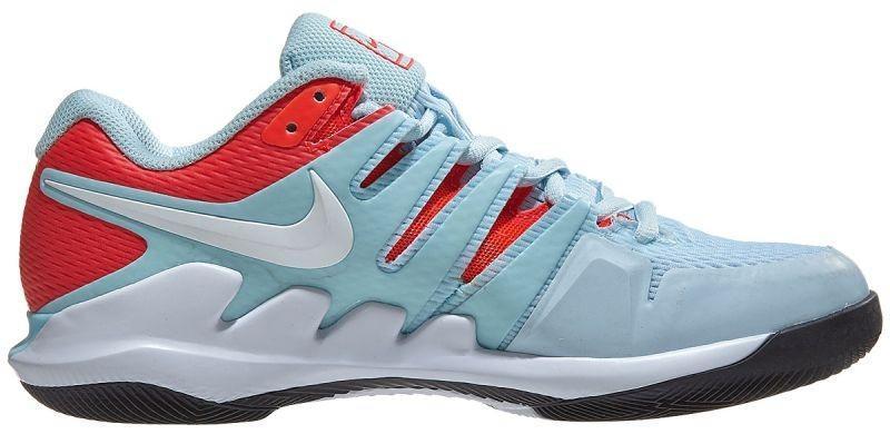 Теннисные кроссовки женские Nike WMNS Air Zoom Vapor 10 HC still blue/white