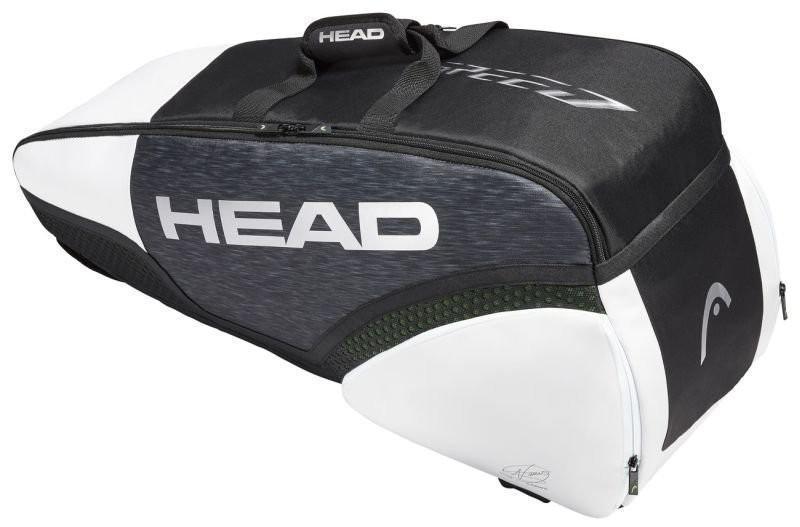 Теннисная сумка Head Novak Djokovic 6R Combi 2019 black/white