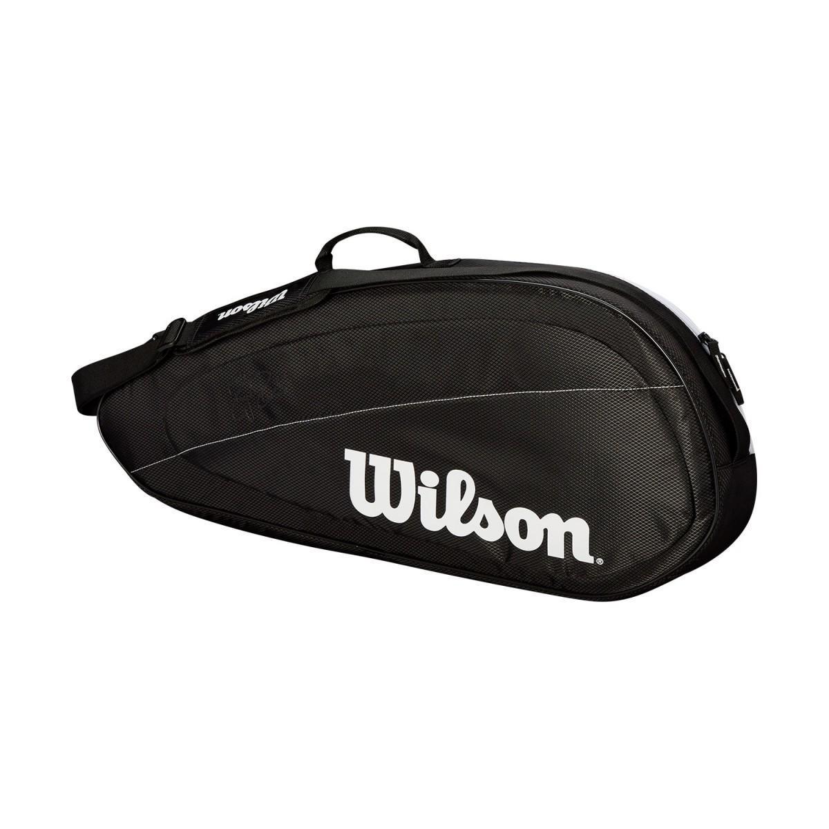 Теннисная сумка Wilson Fed  Team 3 Pk Bag black/white