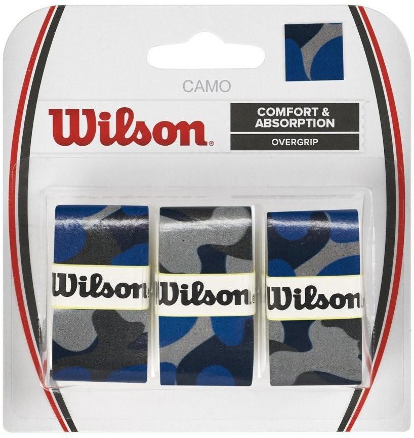 Намотка Wilson Camo Overgrip (3 шт.) blue