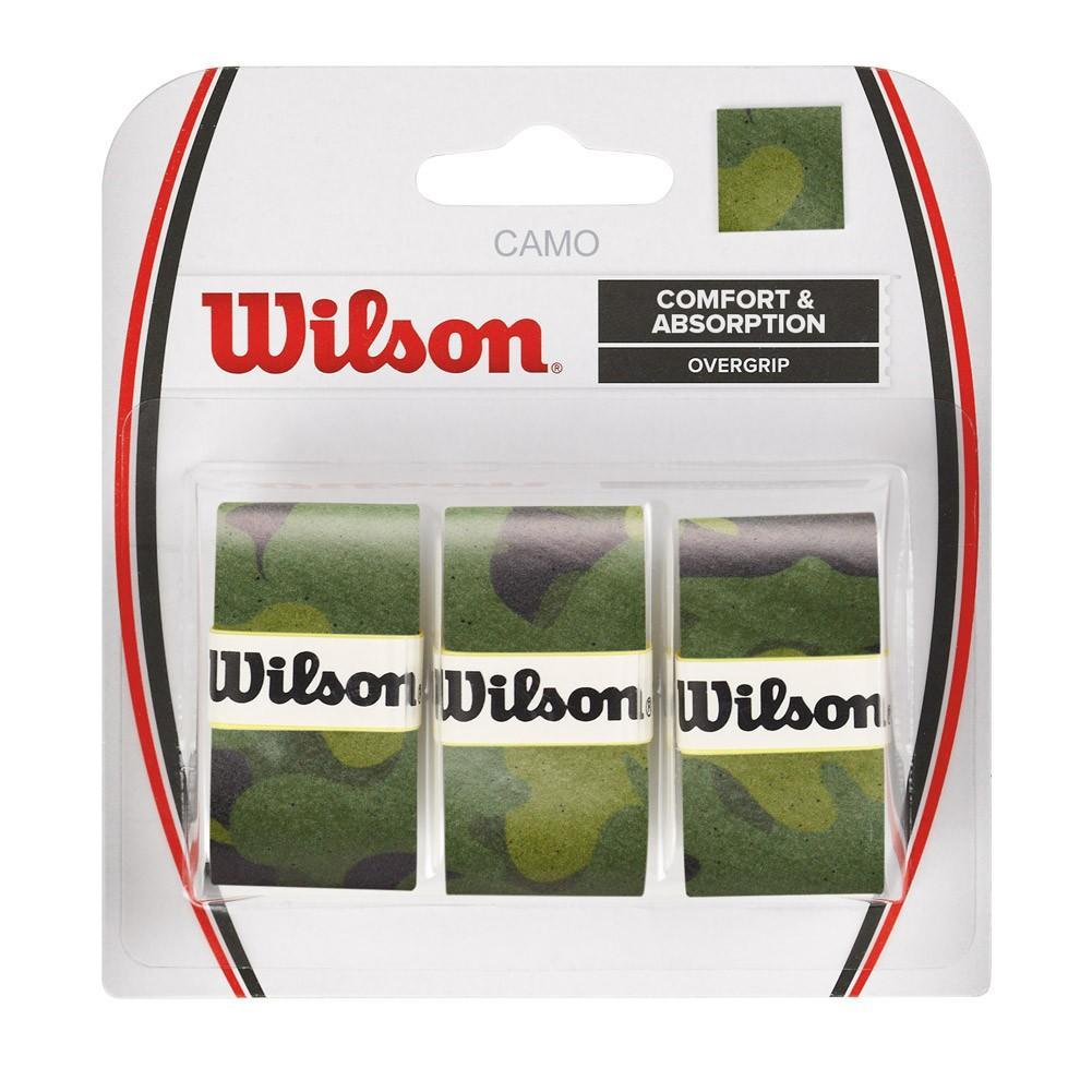 Намотка Wilson Camo Overgrip (3 шт.) green