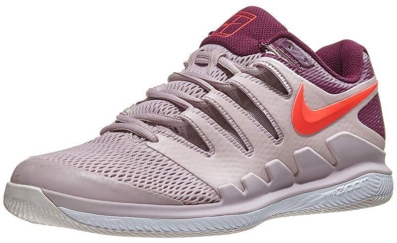 Теннисные кроссовки мужские Nike Air Zoom Vapor 10 HC particle rose/bright crimson