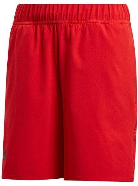 Теннисные шорты детские Adidas Barricade Short scarlet red
