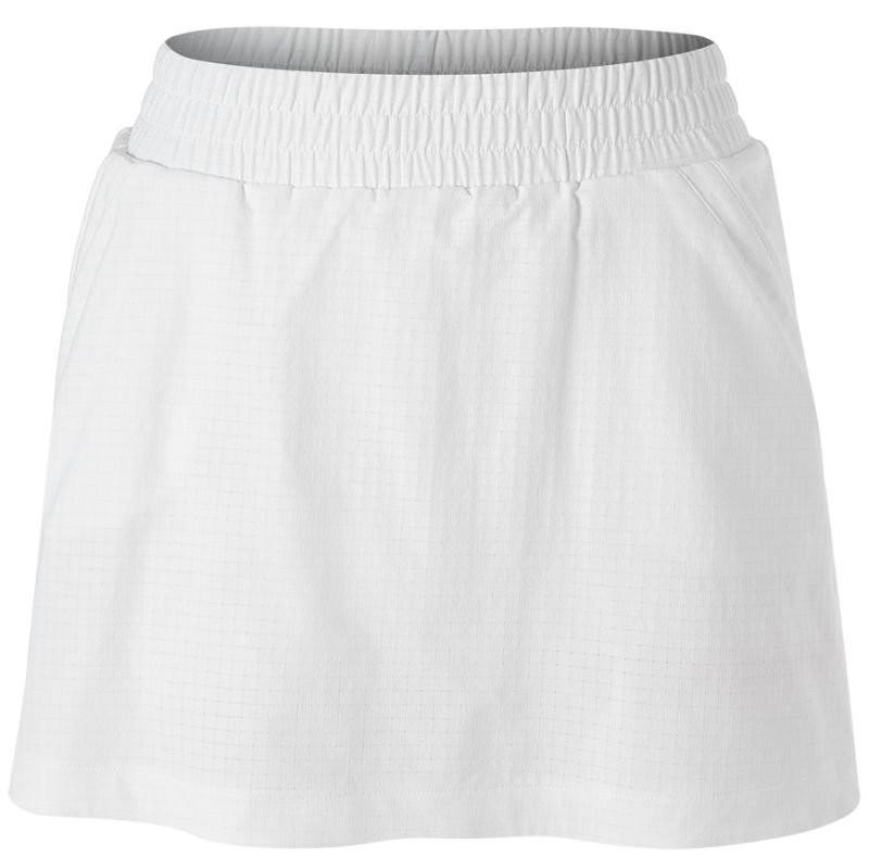 Теннисная юбка женская Adidas Seasonal Skirt white/shock pink