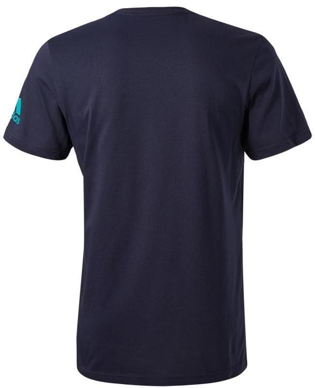 Теннисная футболка мужская Adidas Seasonal Tee M hi-legend ink