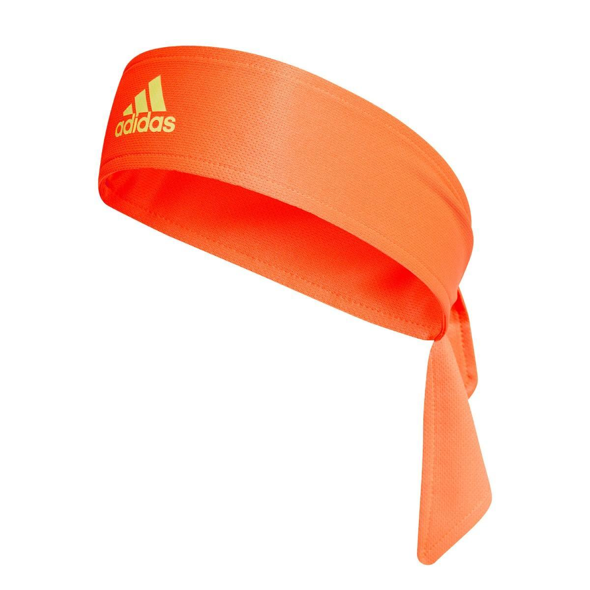 Бандана Adidas Tennis Headband fluo orange/lime
