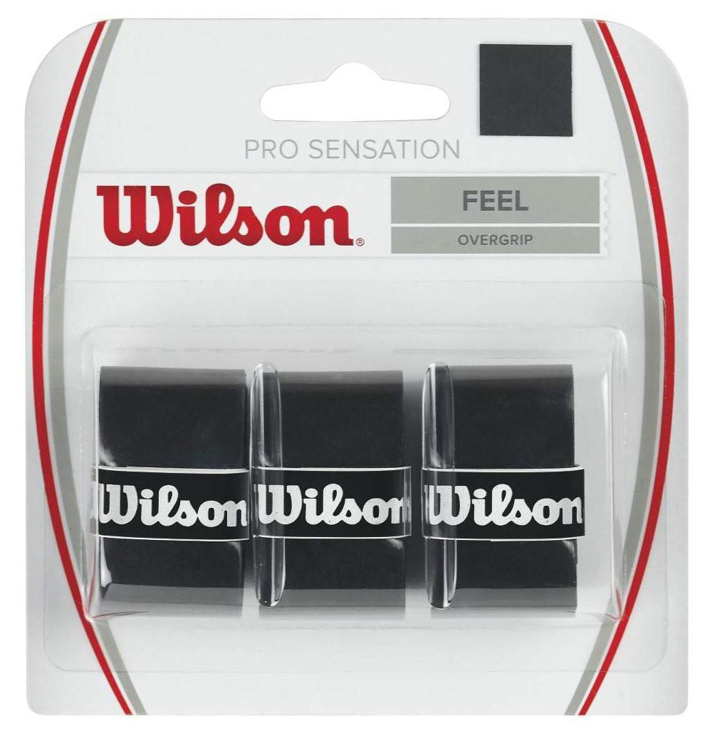 Намотка Wilson Pro Sensation (3 шт.) black