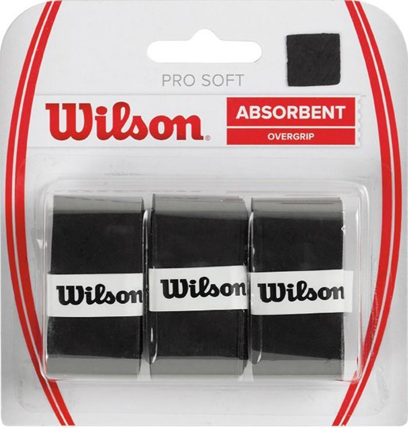 Намотка Wilson Pro Soft (3 шт.) black