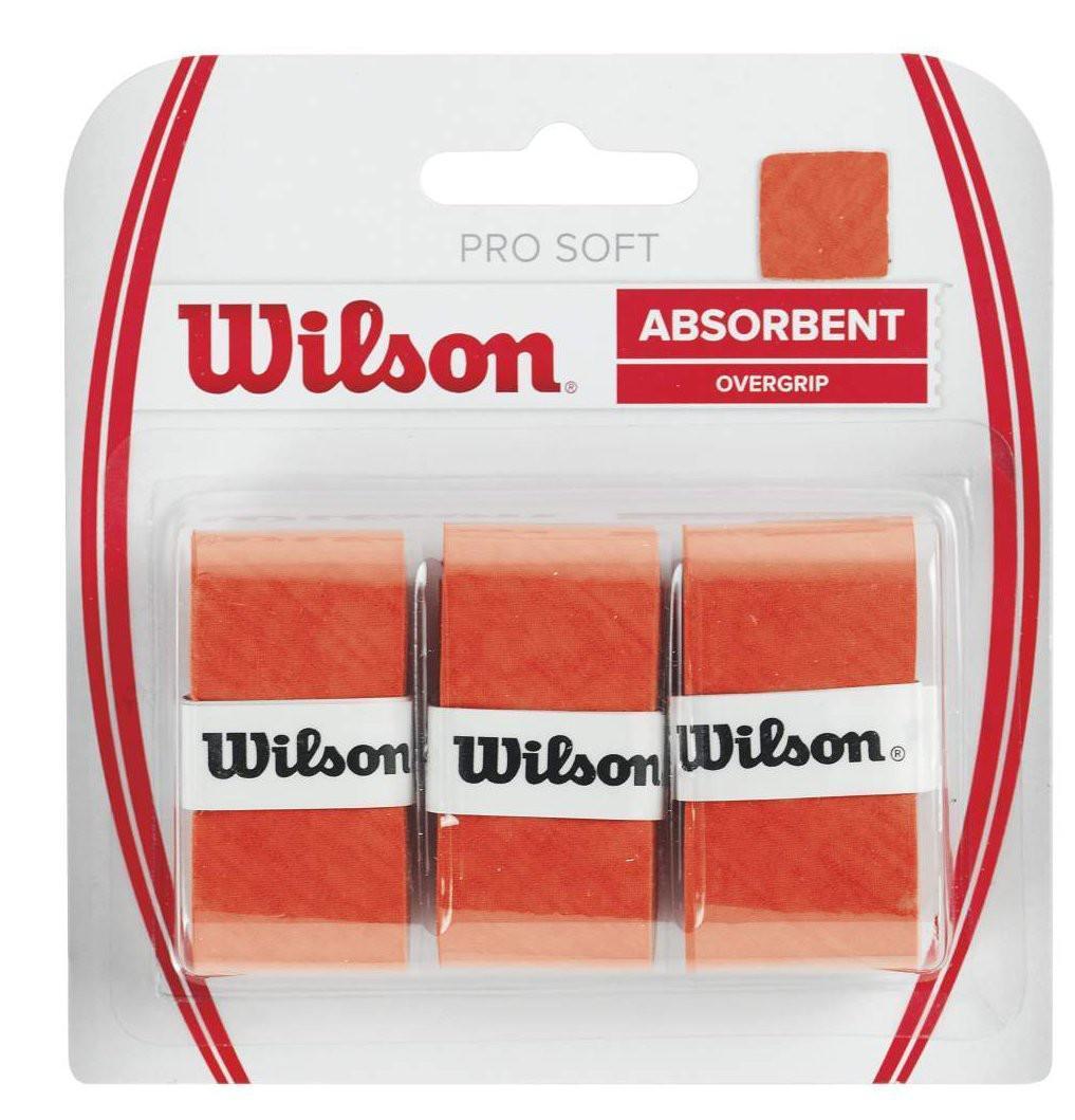 Намотка Wilson Pro Soft (3 шт.) orange