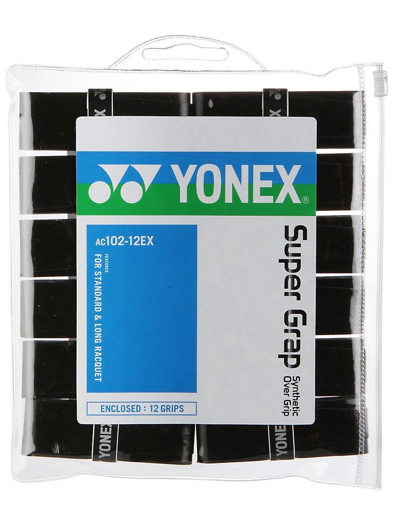 Намотка Yonex Super Grap (12 шт.) black