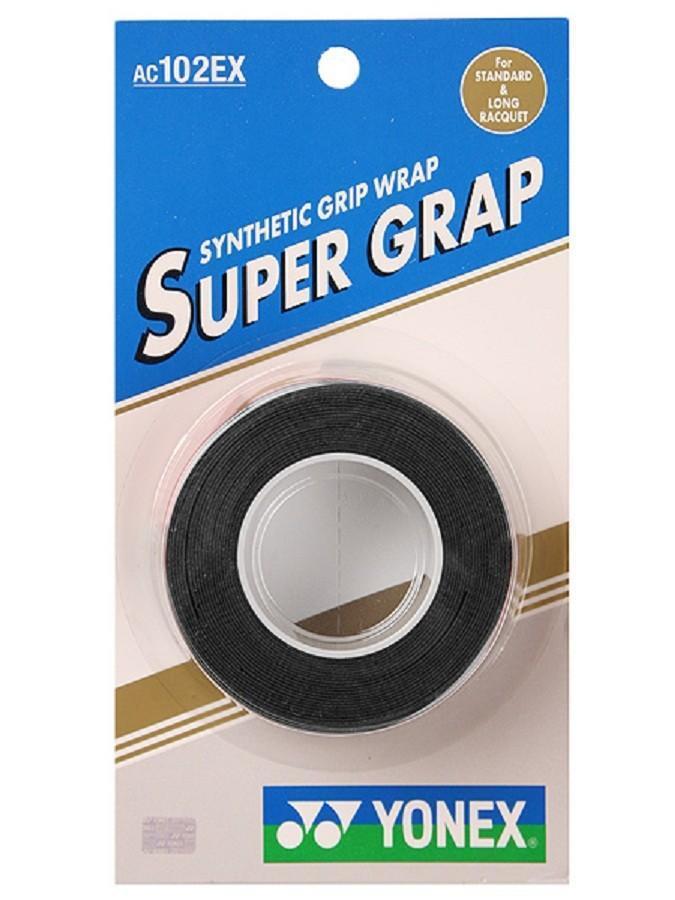 Намотка Yonex Super Grap (3 шт.) black