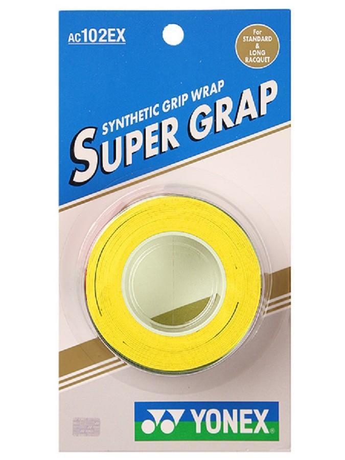 Намотка Yonex Super Grap (3 шт.) yellow