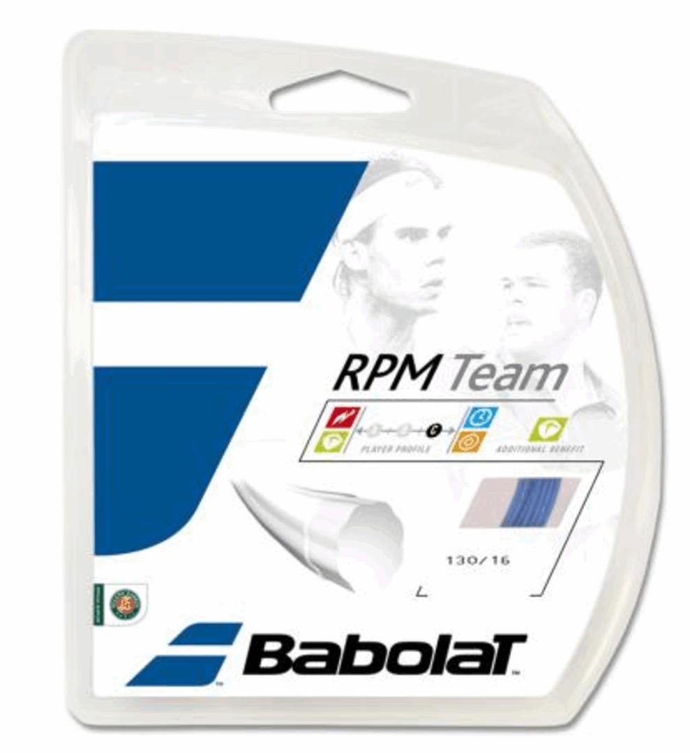 Струна Babolat RPM Team blue 12 m