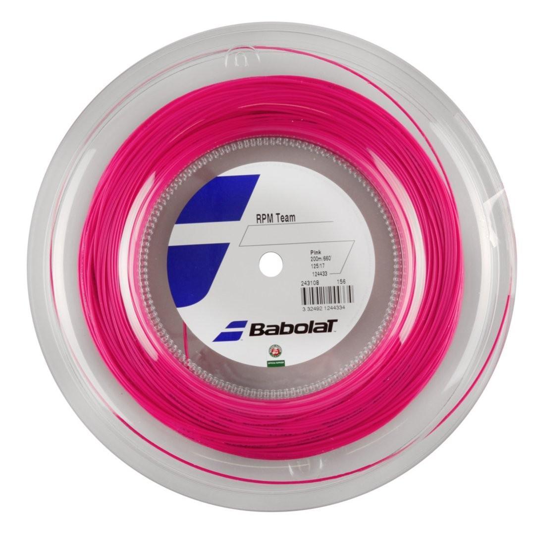 Струна Babolat RPM Team pink 200 m бобина