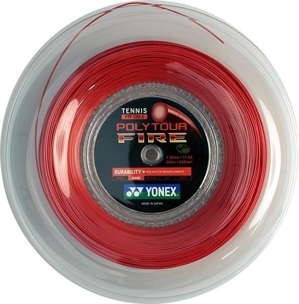 Струна Yonex Poly Tour Fire (200 m) бобина