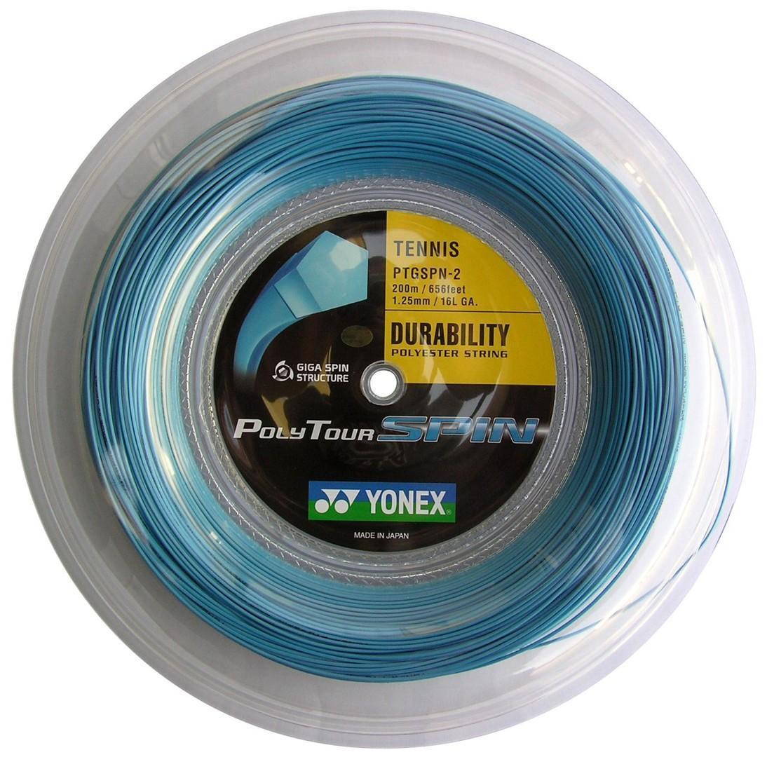 Струна Yonex Poly Tour Spin (200 m) катушка
