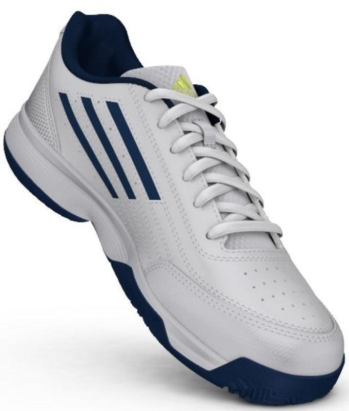 Детские теннисные кроссовки adidas Sonic Attack K ftwr white/tech steel/matte silver