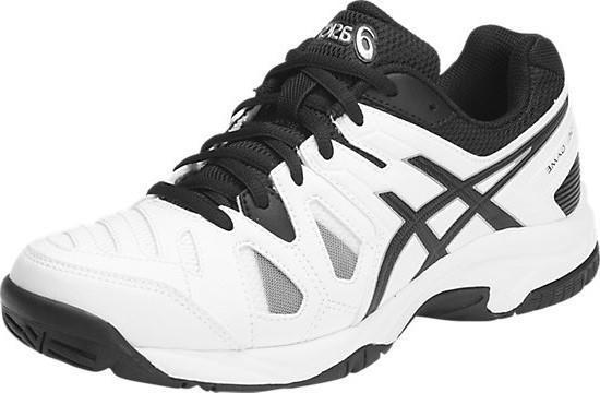 Детские теннисные кроссовки Asics Gel Game 5 GS white/black/silver