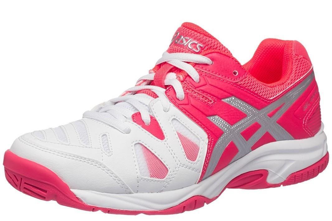 Детские теннисные кроссовки Asics Gel Game 5 GS White/Pink/Silver