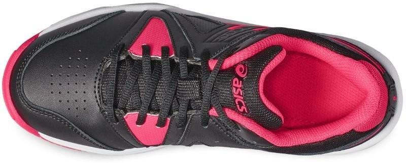 a384850f ... Детские теннисные кроссовки Asics Gel-Gamepoint GS black/diva pink/white