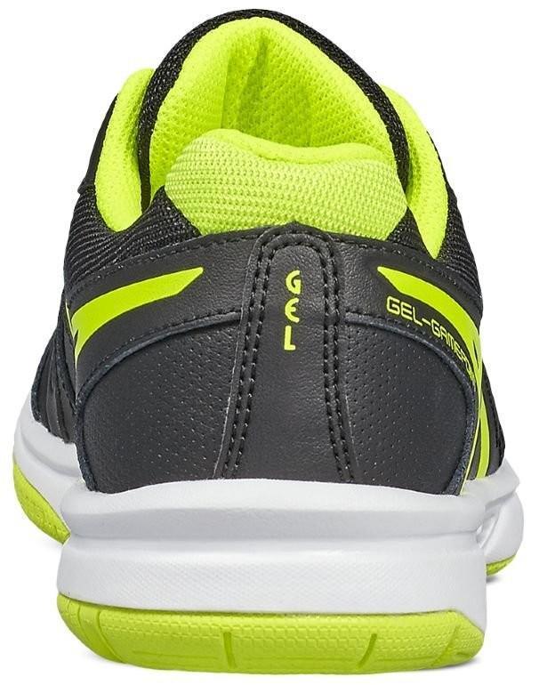 539b1d82 ... Детские теннисные кроссовки Asics Gel-Gamepoint GS black/safety yellow/ white ...