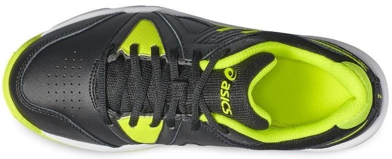 c30353da ... Детские теннисные кроссовки Asics Gel-Gamepoint GS black/safety yellow/ white
