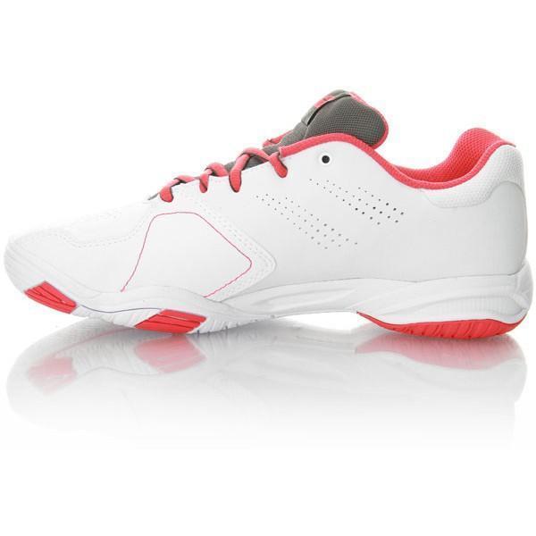 Детские теннисные кроссовки Babolat Drive 3 Junior white/pink