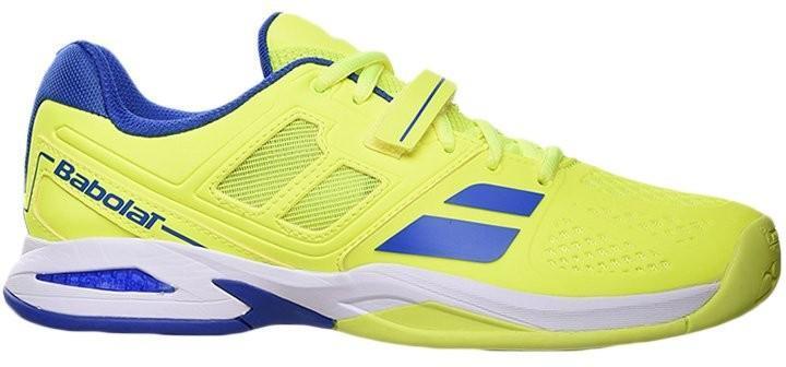 Детские теннисные кроссовки Babolat Propulse All Court Junior yellow/blue