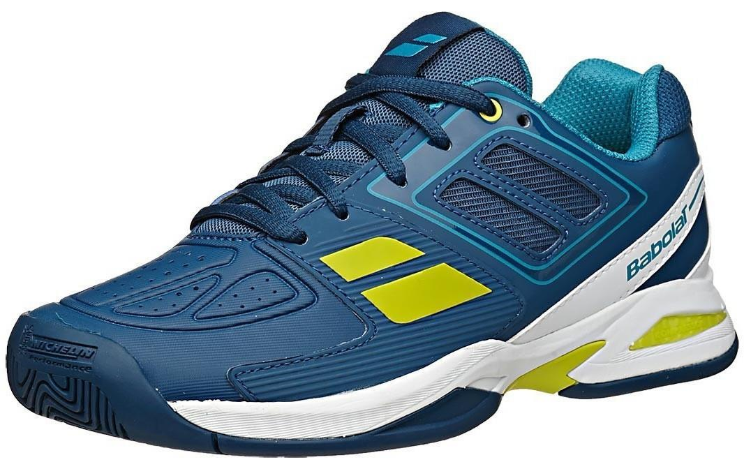 Детские теннисные кроссовки Babolat Propulse Team BPM Blue