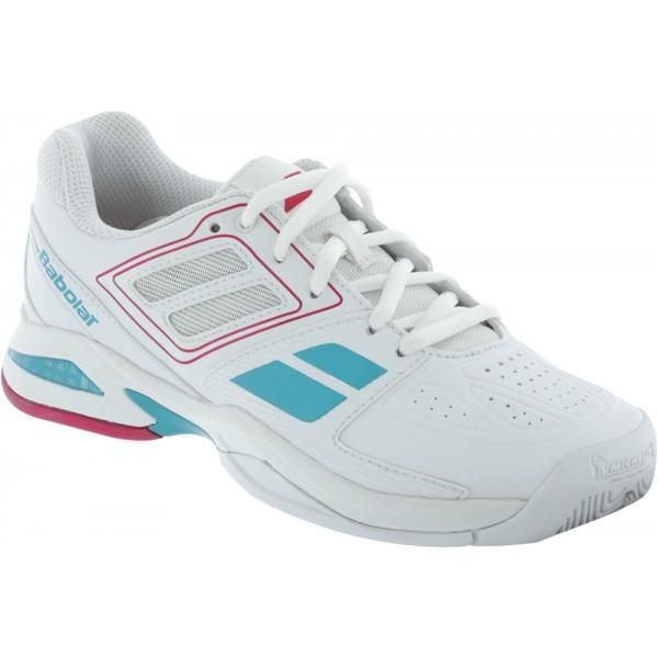Детские теннисные кроссовки Babolat Propulse Team BPM White/Pink
