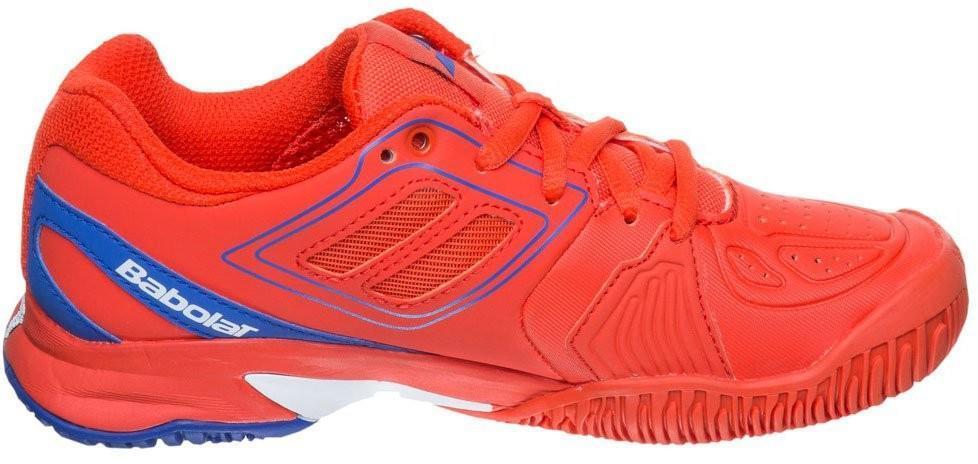 Детские теннисные кроссовки Babolat Propulse Team Junior red