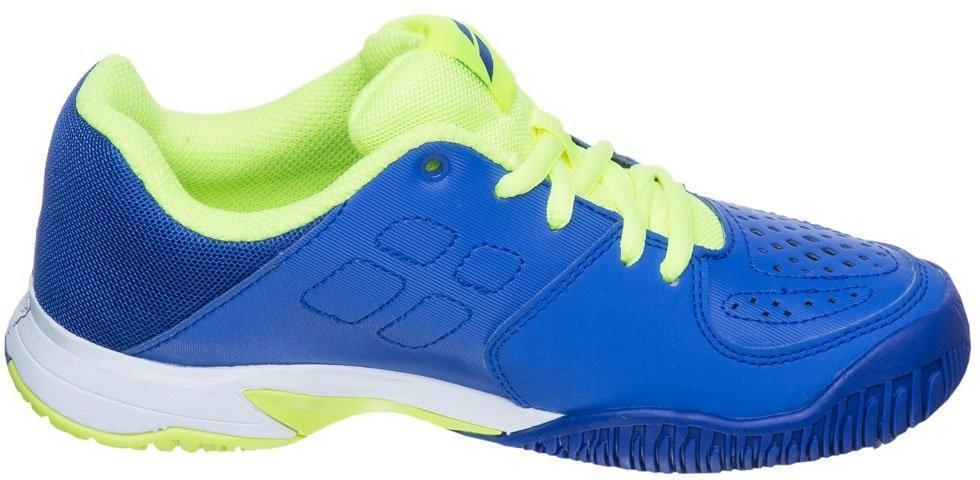 Детские теннисные кроссовки Babolat Pulsion Junior blue/yellow