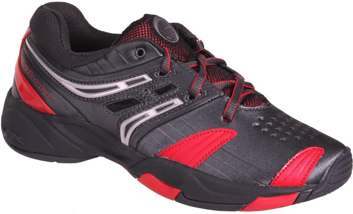 Детские теннисные кроссовки Babolat V-Pro Junior Style anthracite/red
