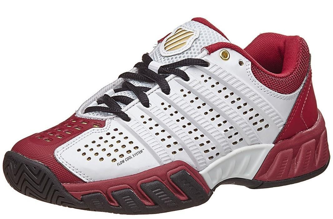 Детские теннисные кроссовки K-Swiss Big Shot Light 2.5 50th White/Red