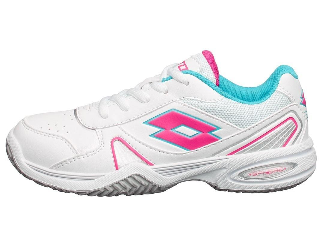 Детские теннисные кроссовки Lotto Stratosphere 2 White/Pink