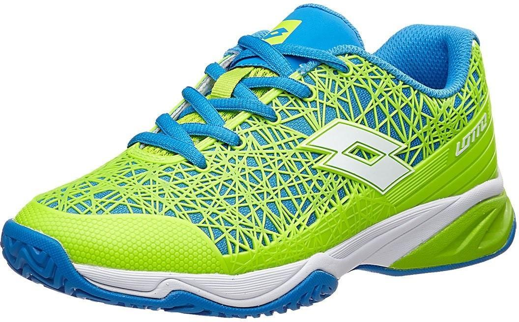 Детские теннисные кроссовки Lotto Viper Ultra JR L green/blue
