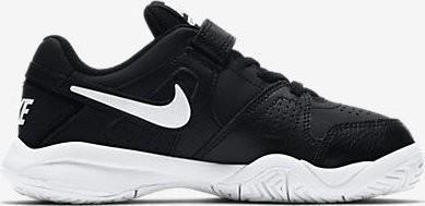 Детские теннисные кроссовки Nike City Court 7 (PSV) black/white