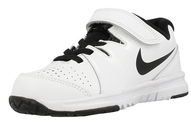 Детские теннисные кроссовки Nike Vapor Court (PSV) white/black