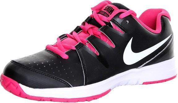 Детские теннисные кроссовки Nike Vapor Court Black/Pink/White