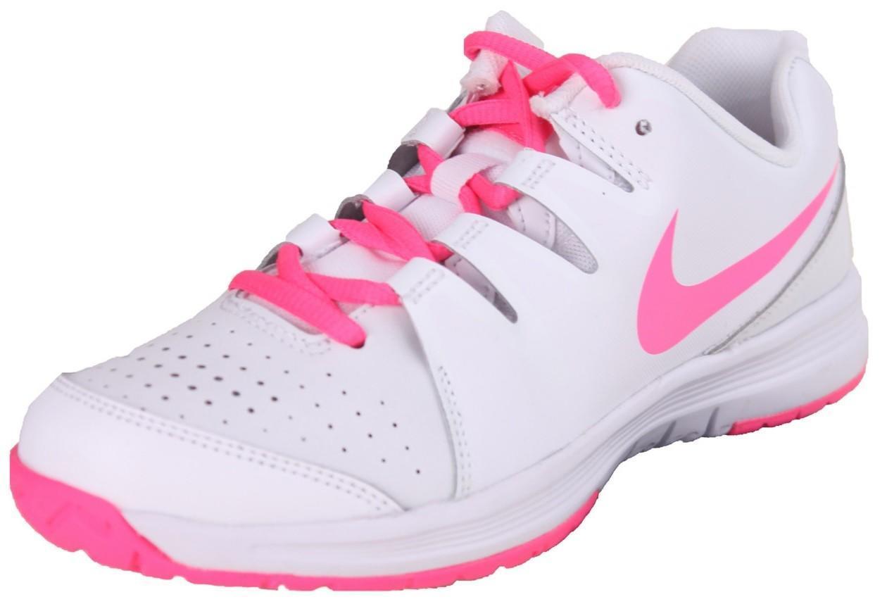 Детские теннисные кроссовки Nike Vapor Court White/Pink