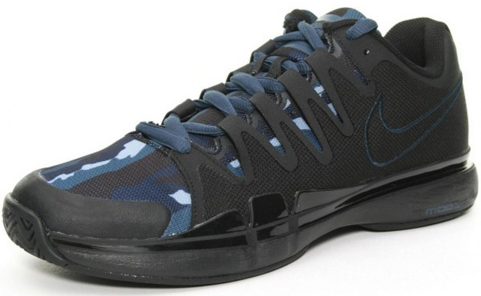 f074a2609c47 Детские теннисные кроссовки Nike Zoom Vapor 9.5 Tour Quickstrike All Court  Shoe Kids Blue Anthracite
