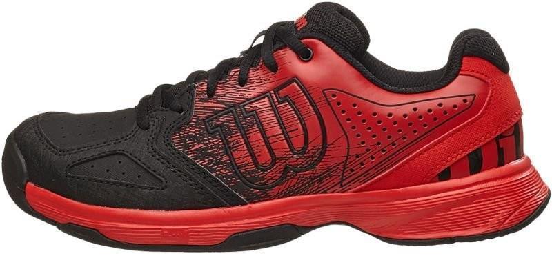 Детские теннисные кроссовки Wilson Kaos Comp JR radiant red/black/radiant red