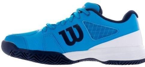 Детские теннисные кроссовки Wilson Rush Pro 2.5 Junior hawaiian ocean/white/navy
