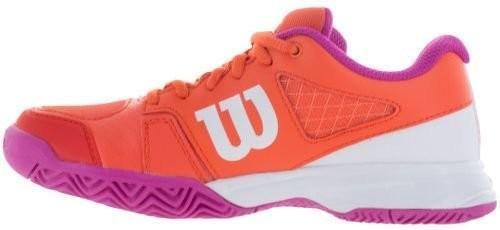 Дитячі тенісні кросівки Wilson Rush Pro 2.5 Junior nasturtium/white/rose violet