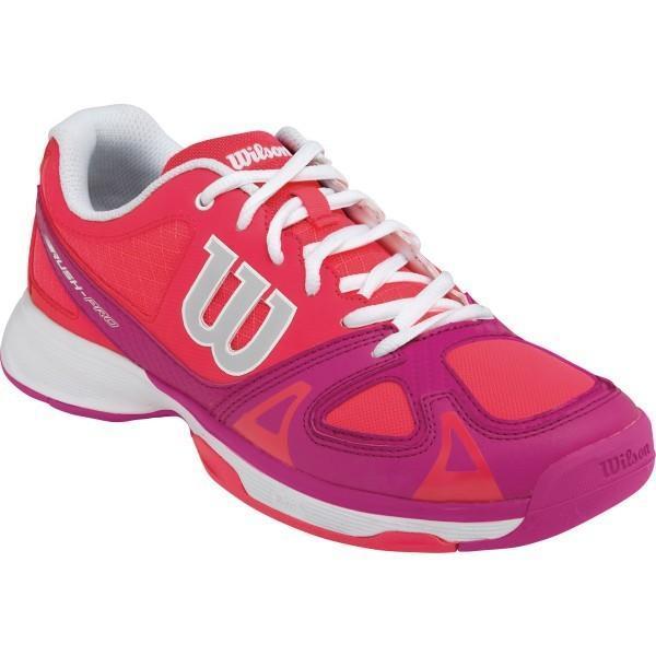 Детские теннисные кроссовки Wilson Rush Red/Pink/White
