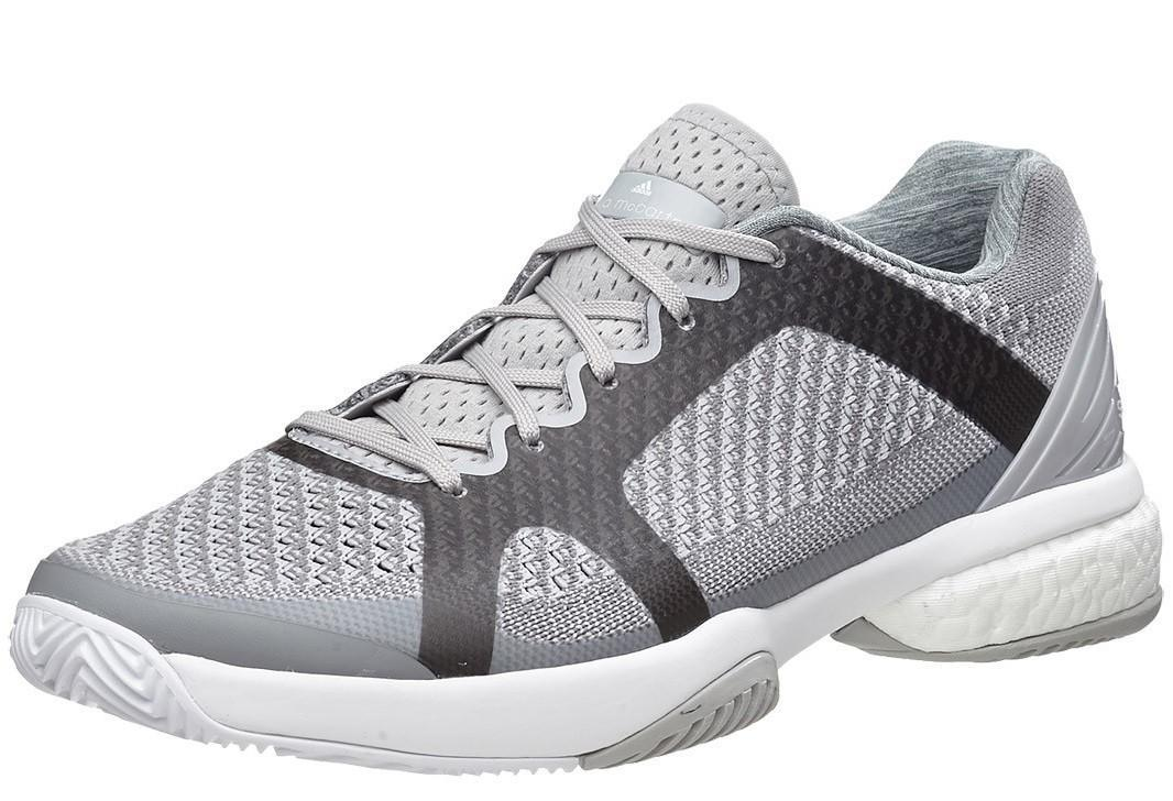 Теннисные кроссовки женские  Adidas Stella McCartney Barricade Boost mystery/universe/white