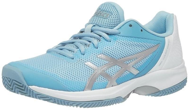 Теннисные кроссовки женские Asics Gel Court Speed Blue/Silver/White