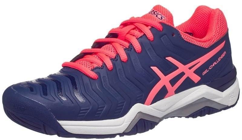 Теннисные кроссовки женские Asics Gel-Challenger 11 indigo blue/diva pink/silver